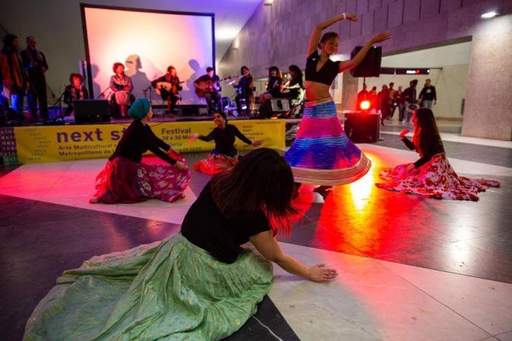 Fotografia de espectáculo de dança e música de Marc Planells e Diana Rego